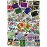 Sammlung gestempelter Briefmarken Ruanda