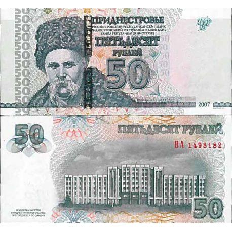 Banconote collezione Transnistrie - PK N° 46 - 50 Rublei