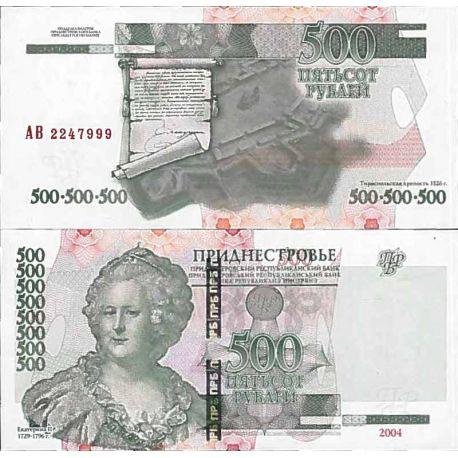 Banconote collezione Transnistrie - PK N° 41 - 500 Rublei