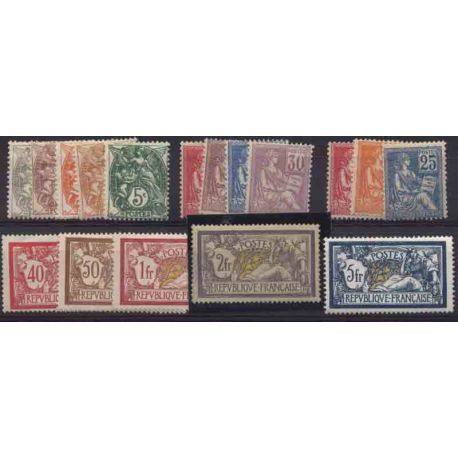 France Année 1900 Complète timbres neufs