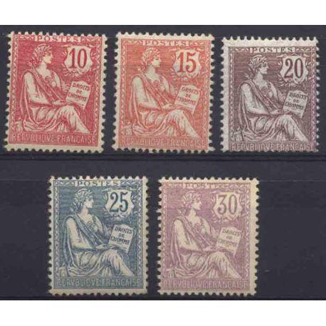 Francia anno completo 1902 Nuovo non linguellato Francobolli