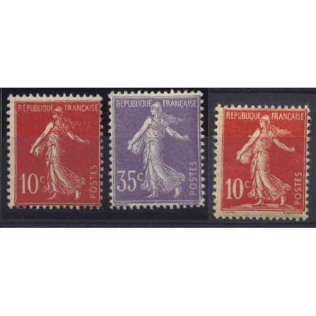 France Année 1906 Complète timbres neufs