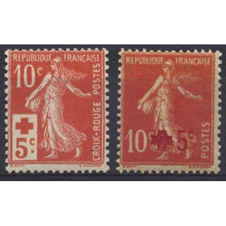 France Année 1914 Complète timbres neufs