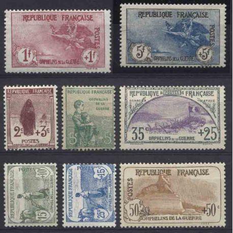 France Année 1917 Complète timbres neufs