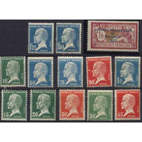 France Année 1923 Complète timbres neufs