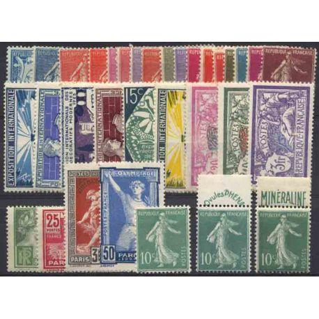 France Année 1924 Complète timbres neufs