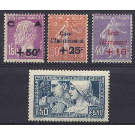 France Année 1928 Complète timbres neufs