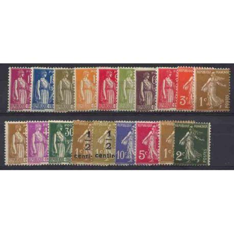 France Année 1932 Complète timbres neufs