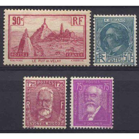 France Année 1933 Complète timbres neufs