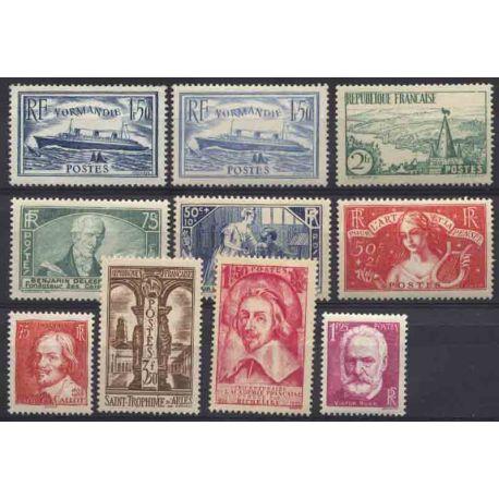 France Année 1935 Complète timbres neufs