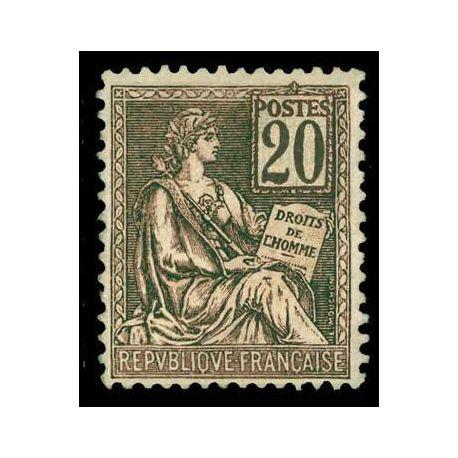 Timbre France N° 113 neuf avec charnière
