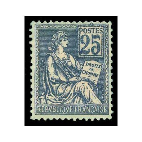 Francobolli francesi N ° 114 nuovo con cerniera