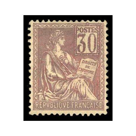 Francobolli francesi N ° 115 nuovo con cerniera