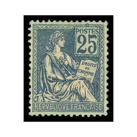 Francobolli francesi N ° 118 nuovo con cerniera
