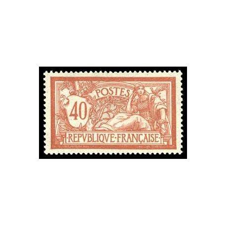 Francobolli francesi N ° 119 nuovo con cerniera