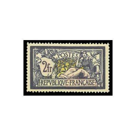 Francobolli francesi N ° 122 nuovo con cerniera