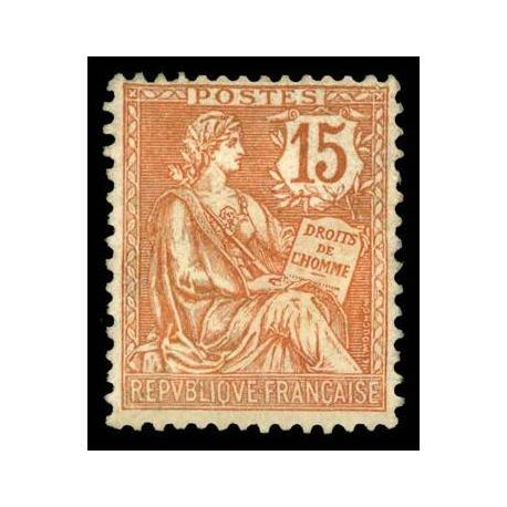 Timbre France N° 125 neuf avec charnière