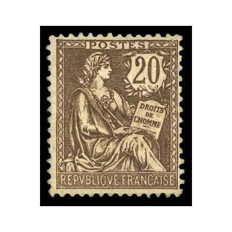 Timbre France N° 126 neuf avec charnière