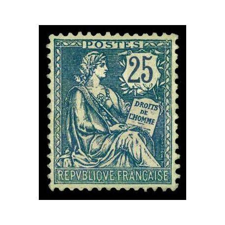 Francobolli francesi N ° 127 nuovo con cerniera