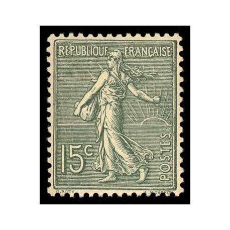 Francobolli francesi N ° 130 nuovo con cerniera