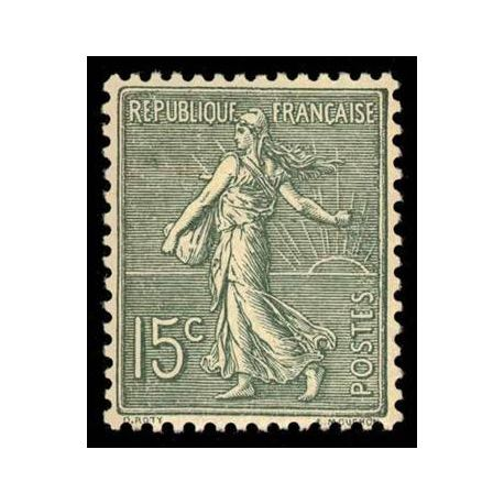 Timbre France N° 130 neuf avec charnière