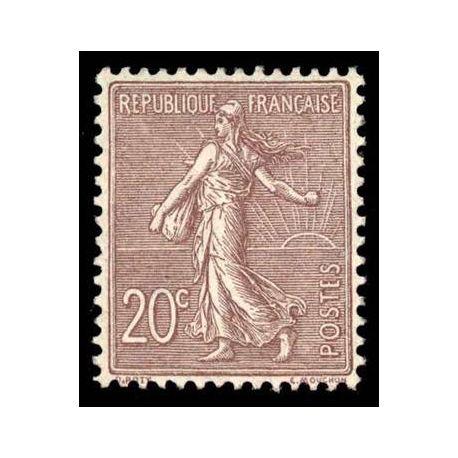 Francobolli francesi N ° 131 nuovo con cerniera