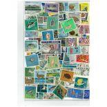 Sammlung gestempelter Briefmarken Ryu Kyu