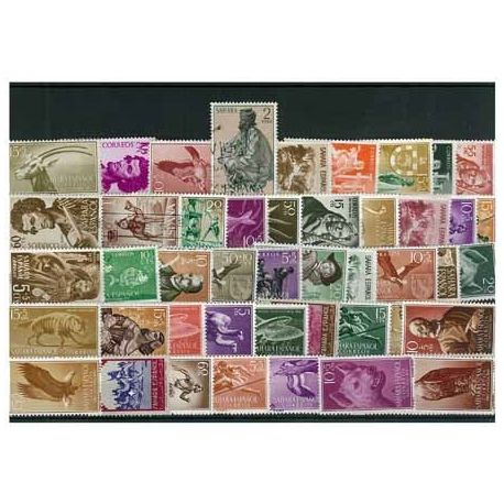 Collection de timbres Sahara Espagnol oblitérés