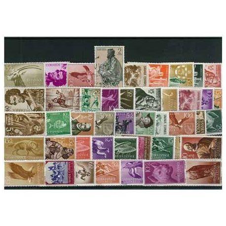 Sahara Espagnol - 10 timbres différents