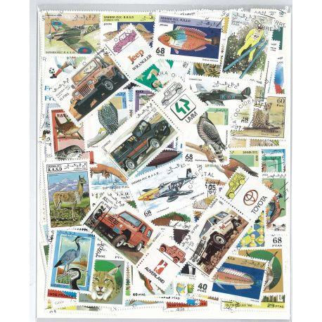 Westsahara - 100 verschiedene Briefmarken