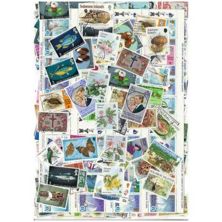 Solomon - 25 verschiedene Briefmarken