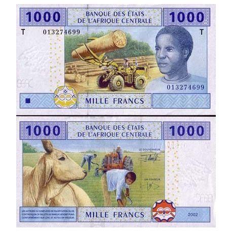 Billets de collection Billets de banque Afrique Centrale Congo Repu Pk N° 107 - 1000 Francs Billets du Congo 8,00 €