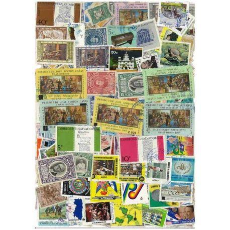 Salvador - 25 timbres différents