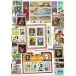 Sammlung Von Briefmarken gestempelt Samoa