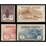 Stamps series of France N° 229/232 unused with hinge