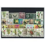 Sarrawak-Sammlung gestempelter Briefmarken