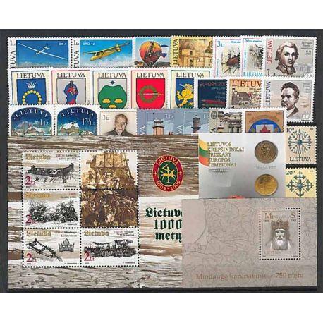 Lituania Año 2003 completa, nuevos sellos sin bisagra