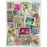 Selangor-Sammlung gestempelter Briefmarken