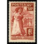 Französisch Briefmarken N ° 401 mit Scharnier