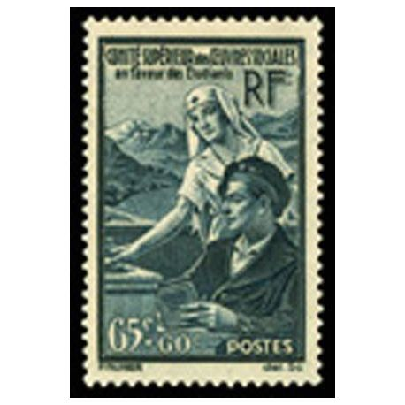 Timbre France N° 417 neuf avec charnière