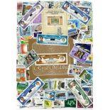 Sammlung gestempelter Briefmarken Seychellen