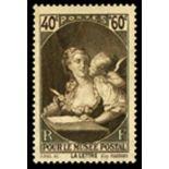 Französisch Briefmarken N ° 446 mit Scharnier