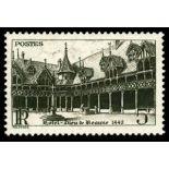 Französisch Briefmarken N ° 499 mit Scharnier