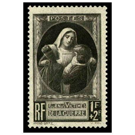 Francobolli francesi N ° 465 nuovo con cerniera