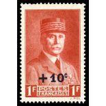 Französisch Briefmarken N ° 494 mit Scharnier