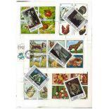 Schardscha-Sammlung gestempelter Briefmarken