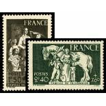 Timbres France Série N° 585/586 neuf avec charnière