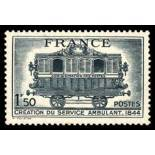 French stamps N° 609 unused with hinge