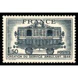 Timbre France N° 609 neuf avec charnière