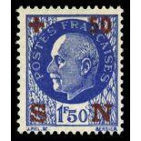 Französisch Briefmarken N ° 552 mit Scharnier